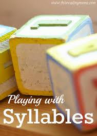 Syllables Worksheets - Dot the Syllables - This Reading Mama