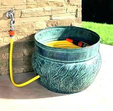 diy water hose holder garden hose storage ideas water hose rack garden hose box garden hose