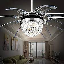exquisite chandelier ceiling fan of rs lighting modern fashion 42 inch blades with led