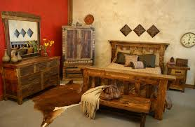 Lodge Style Bedroom Furniture Rustic Western Bedroom Furniture