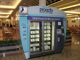 Proactiv Vending Machine