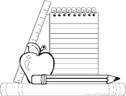 back to school coloring page coloring pages back to school school supplies coloring page free pages back to school coloring page