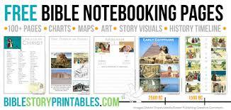 Free Printable Bible Timeline 200 Cards