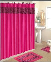stunning shower curtains with matching rugs 3 piece pink zebra bathroom rugs with fabric shower curtain shower curtains with matching rugs and towels