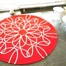 red circle rugs ideas red circle rug or white circle rug white e rug round red
