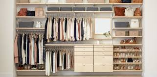 elfa reach in closets inspiration