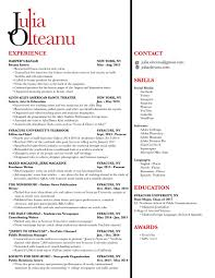 Resume Julia Olteanu