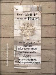 Familie Ist Wie Ein Baum Xxl Vintage Spruchtextschild Sprüche