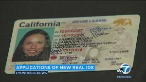 Accept Applications Id com Begins Dmv Abc7 To Real