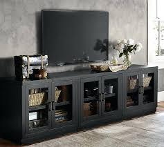 tall media console. Low Media Cabinet Long Suite Pottery Barn For Console Remodel 1 Contemporary . Tall