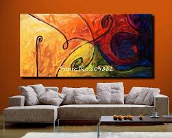 Discount 100 Handmade Large Canvas Wall Art Abstract Painting On For Large  Wall Art Canvas Ideas ...