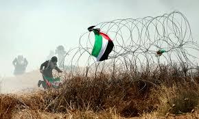 Image result for gaza border brecking