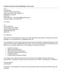 Resume Cover Letter Examples 1