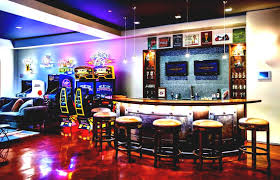 Cool Basement Cool Basement Man Caves Your Gateway To Peace Fun Interior