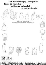 Small Picture Valuable Idea The Very Hungry Caterpillar Coloring Page Very