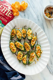 Grilled Jalapeno Poppers Recipe Cooking Light Baked Jalapeño Poppers Recipe Cookie And Kate