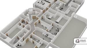 floor plan 3d. 3D Floor Plans For Commercial Properties Plan 3d