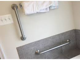 How To Install A Bathroom Fascinating Bathroom Grab Bars Installation Cost