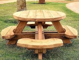 full size of outdoor wooden bench tables table garden picnic all about house design best round