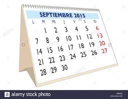 En El Mes De Septiembre Del Año 2015 En El Calendario Español
