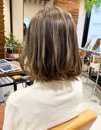 3dハイライト切りっぱなしボブom 178 ヘアカタログ髪型ヘア