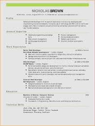 Resume Sample Forure Graduate Fresh For Architecture Free Templates