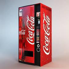 Coca Cola Vending Machines Beauteous Coca Cola Vending Machine Obj