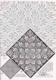 Crochet Tablecloth Pattern Interesting Crochet Tablecloth Pattern Crochet And Knit