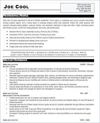 Military Resume Template Inspiration Free Military Resume Templates And Military Resume Template Word To