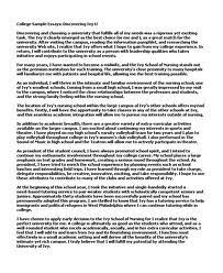 essays about college  sample college admission essays admissions essays