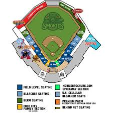 Smokies Stadium Seating Related Keywords Suggestions