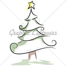Christmas Tree Design Gl Stock Images Christmas Tree