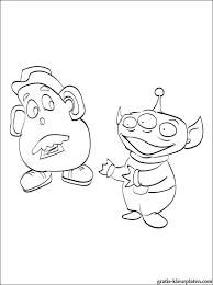 Toy Story 3 Om In Te Kleuren Gratis Kleurplaten