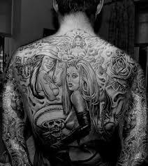 Tetování Na Horní Záda 24