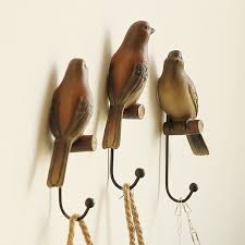 Bird Coat Rack American country Home Furnishing jewelry bird coatrack wall hanger 61