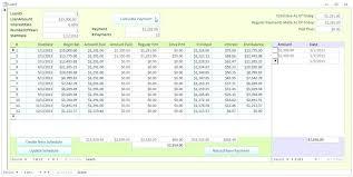 Loan Amortization Spreadsheet Excel Free Extra Calculator