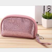mb 20 high quality promotional whole fashion waterproof shiny lady evening bag cosmetic makeup bag uk