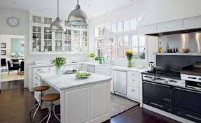 All White Kitchen Designs Decoration Unique Inspiration