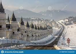Mudurnu/Bolu/die Türkei Am 18. Januar 2019 Chateauhäuser, Burj Al Babas  Redaktionelles Stockbild - Bild von architektonisch, aufsatz: 138687569