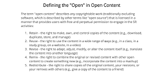 intellectual property copyright and open pedagogy digital in her essay ldquowhat is open education rdquo philosophy professor christina hendricks builds on this foundation to further articulate an open approach to