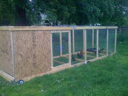 Chicken Coop Plans On Wheels 11 Chicken Coop On Wheels How To Build A Chicken  Coop