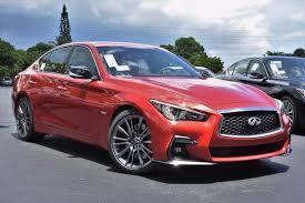 2018 infiniti red sport 400.  sport a 2018 infiniti q50 in coral gables fl dealer of gables  dynamic sunstone red red sport 400 4d sedan for infiniti red sport