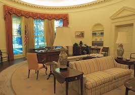 inside the oval office. The Oval Office Replica Inside