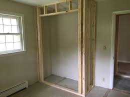 building a closet in an existing room how to build a closet into an existing room