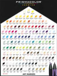 Ohuhu Color Chart The Best Alcohol Based Markers For Artists 2019 Buyers