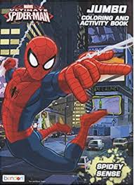 This character is the identity chosen by coloring is a fun way to develop your creativity, your concentration and motor skills while forgetting daily stress. Spiderman Coloring Books With 96 Coloring Pages Partytoyz Com
