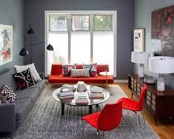 18 stunning red sofa living room design
