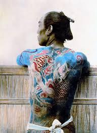 удивительные старинные японские татуировки Diddlybop