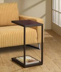 table under sofa. sofa side table slide under concept t