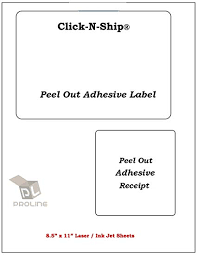 Amazon Com Proline Click N Ship Labels With Peel Away